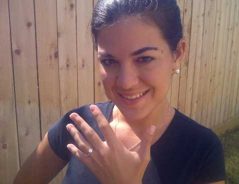 Andrea With Ring