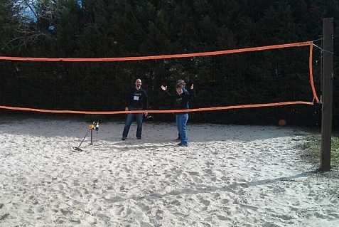 The Volleyball Court